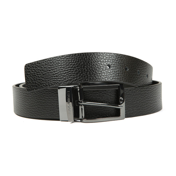Emporio Armani Mens Black Y4S195 Reversible Belt main image