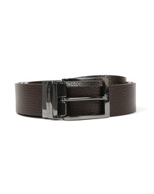 Emporio Armani Mens Brown Y4S195 Reversible Belt