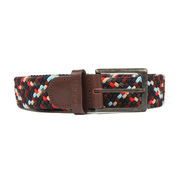Barbour Lifestyle Mens Blue Ford Belt
