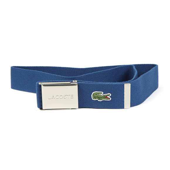 Lacoste Mens Blue Fabric Belt RC0012 main image
