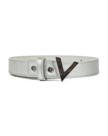 Valentino by Mario Womens Silver Divina Belt