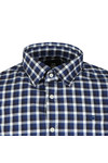 G-Star Mens Blue L/S Check Shirt