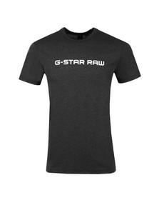 G-Star Mens Black S/S Print Tee
