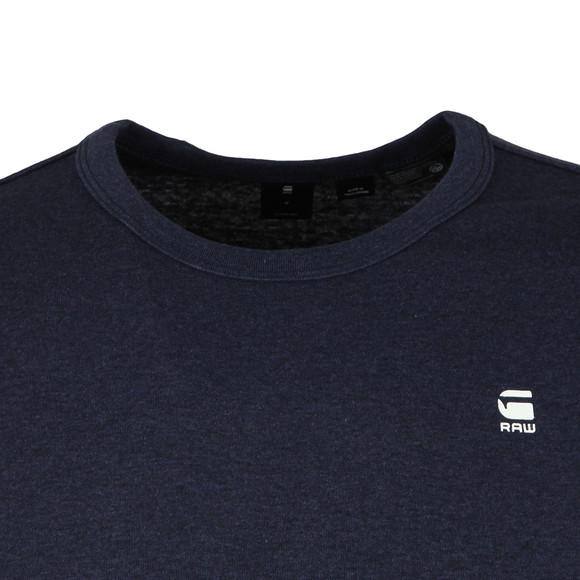 G-Star Mens Blue S/S Small Logo Tee main image