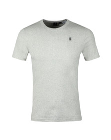 G-Star Mens White S/S Small Logo Tee