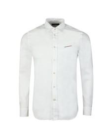 Diesel Mens White Harras Shirt
