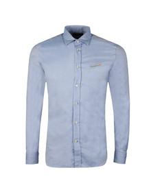 Diesel Mens Blue Harras Shirt