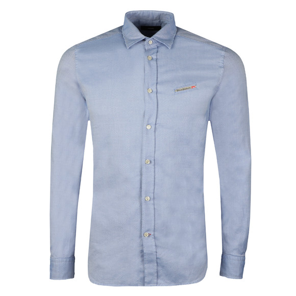 Diesel Mens Blue Harras Shirt main image