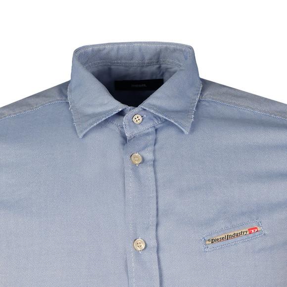Diesel Mens Blue Harras Shirt main image