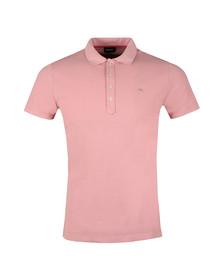 Diesel Mens Pink T Heal Polo Shirt