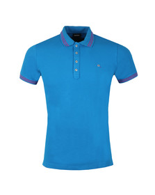 Diesel Mens Blue Randy Polo Shirt
