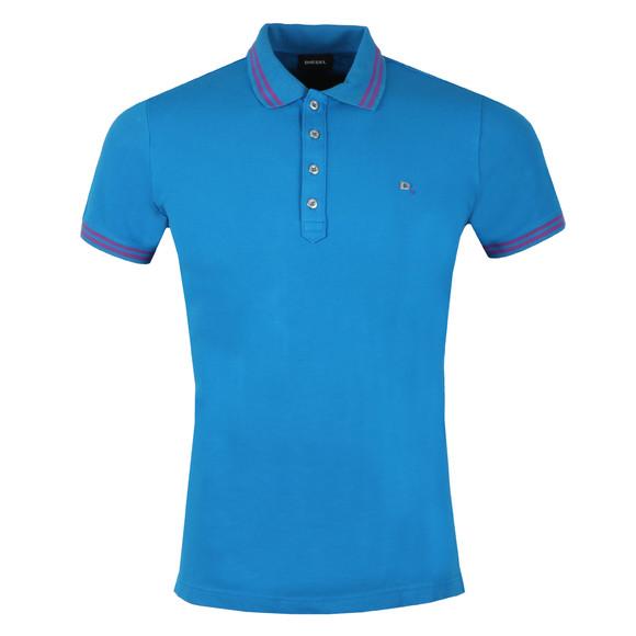 Diesel Mens Blue Randy Polo Shirt main image