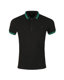 Diesel Mens Black Randy Polo Shirt