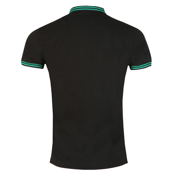 Diesel Mens Black Randy Polo Shirt main image