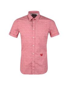 Diesel Mens Red Venety Shirt