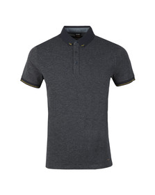 BOSS Mens Blue Casual Pulp Polo Shirt