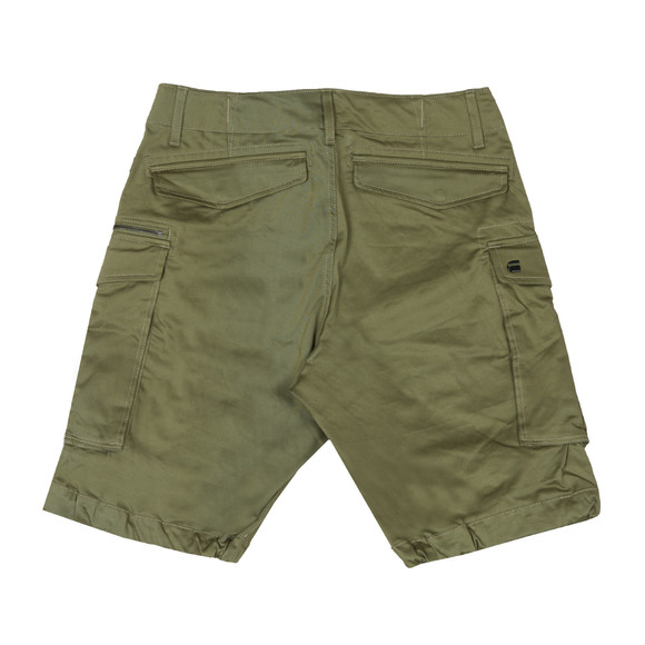 G-Star Mens Green Rovic Zip Relaxed Short main image