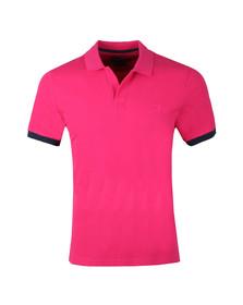 Vilebrequin Mens Pink Palatin Pique Polo Shirt
