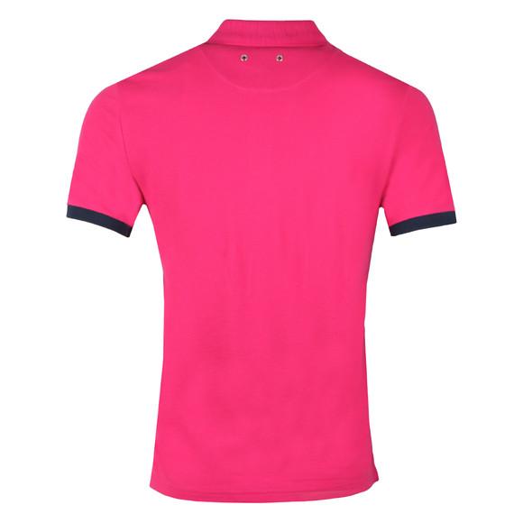 Vilebrequin Mens Pink Palatin Pique Polo Shirt main image