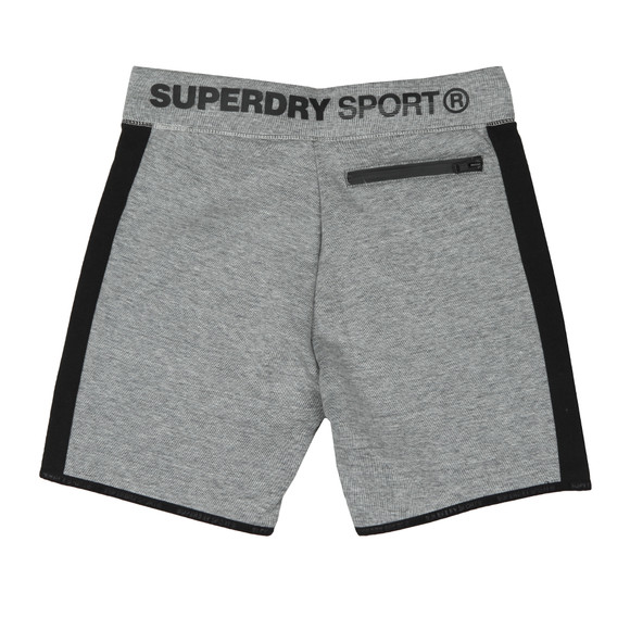 Superdry Sport Mens Grey Gym Tech Stripe Slim Short main image 18d54b79df0