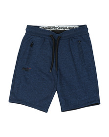 Superdry Mens Blue Orange Label Urban Short