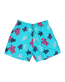 Vilebrequin Mens Blue Multicolour Turtle Swim Short