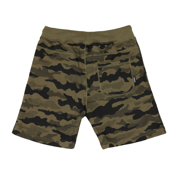 Diesel Mens Green Pan Jersey Short main image