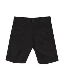 Diesel Mens Black Chi-Drive Chino Shorts