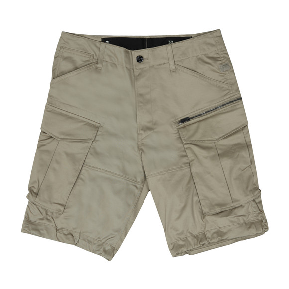 G-Star Mens Beige Rovic Zip Relaxed Short main image