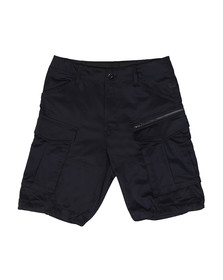 G-Star Mens Blue Rovic Zip Relaxed Short