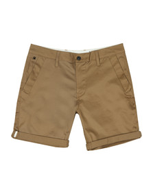 G-Star Mens Brown Bronson Tapered Chino Short