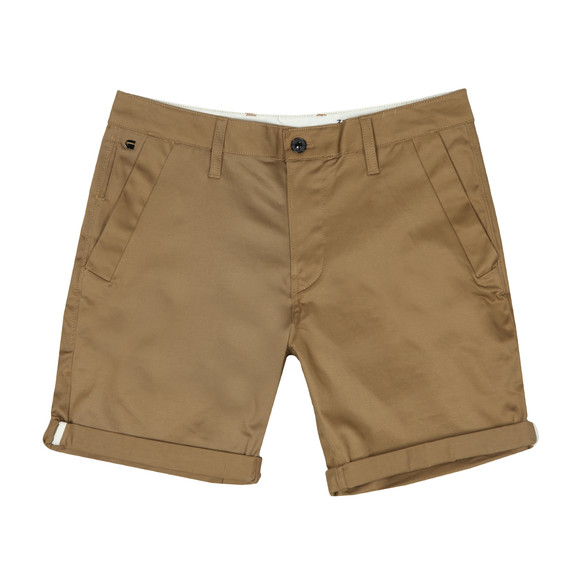 G-Star Mens Brown Bronson Tapered Chino Short main image