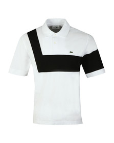 Lacoste Mens White PH7326 Anniversary Polo