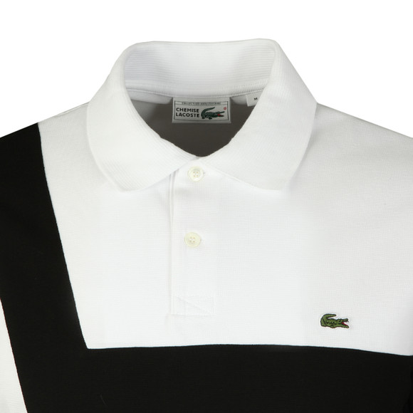 Lacoste Mens White PH7326 Anniversary Polo main image