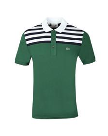 Lacoste Mens Green PH7327 Anniversary Polo