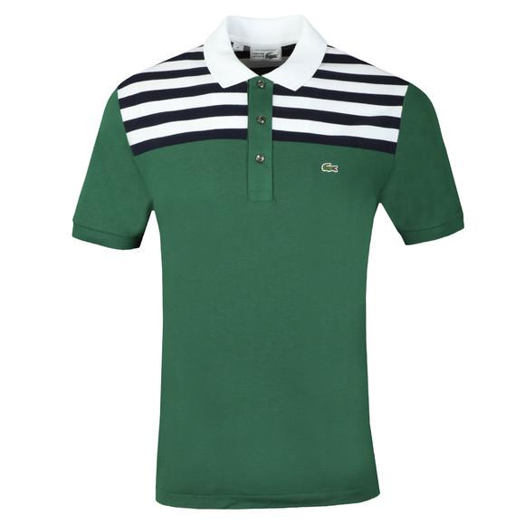 Lacoste Mens Green PH7327 Anniversary Polo main image