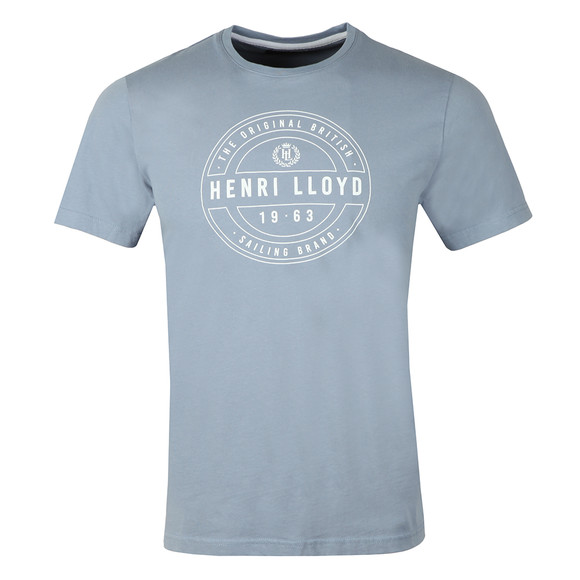 Henri Lloyd Mens Blue Hurst Printed Tee main image