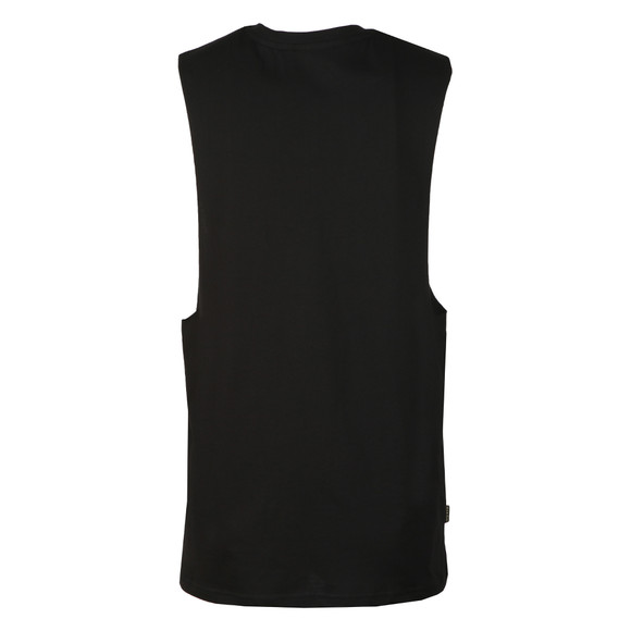 Gym King Mens Black Stern Tank Vest main image