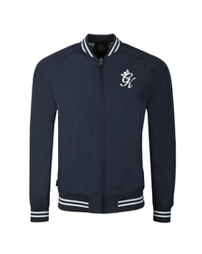 Gym king Mens Blue Retro Track Top