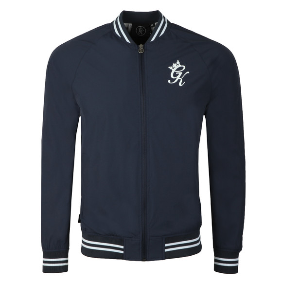 Gym King Mens Blue Retro Track Top main image