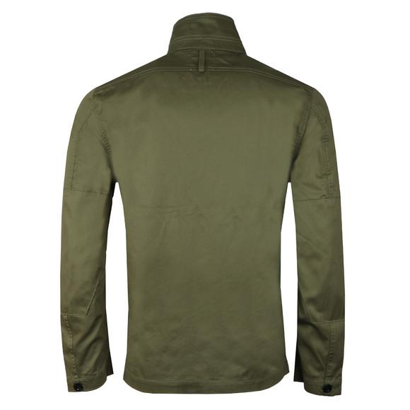 G-Star Mens Green Type C Zip Utility Overshirt main image