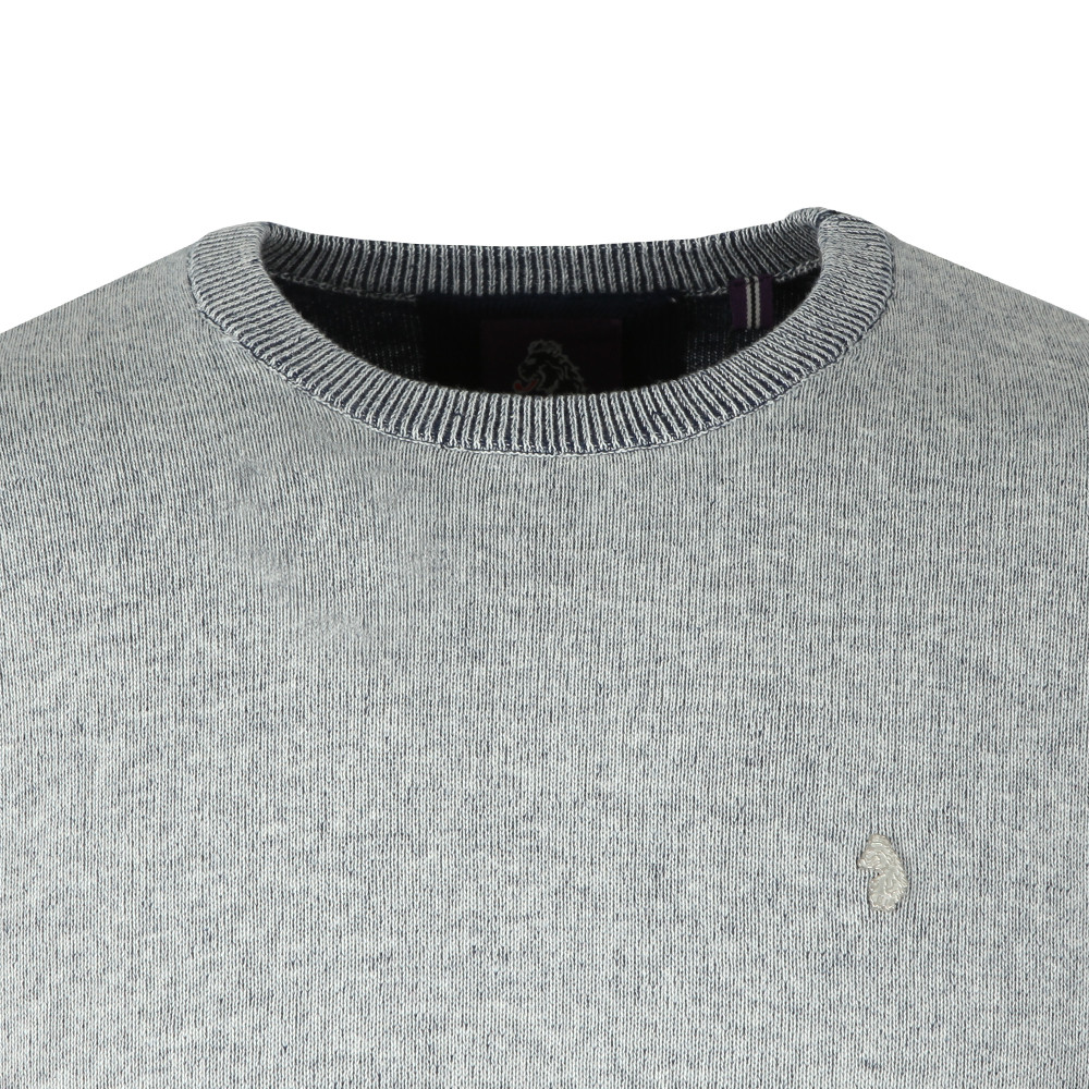 Crew Neck Plated Knit main image