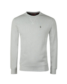 Luke Mens Off-white RC1 Ribbed Crew Neck Sweat