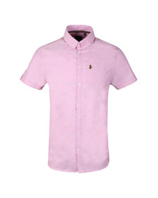 Luke Sport Mens Pink Jimmy Travel SS Shirt