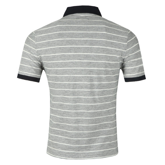 Original Penguin Mens Blue S/S Feeder Stripe Polo main image