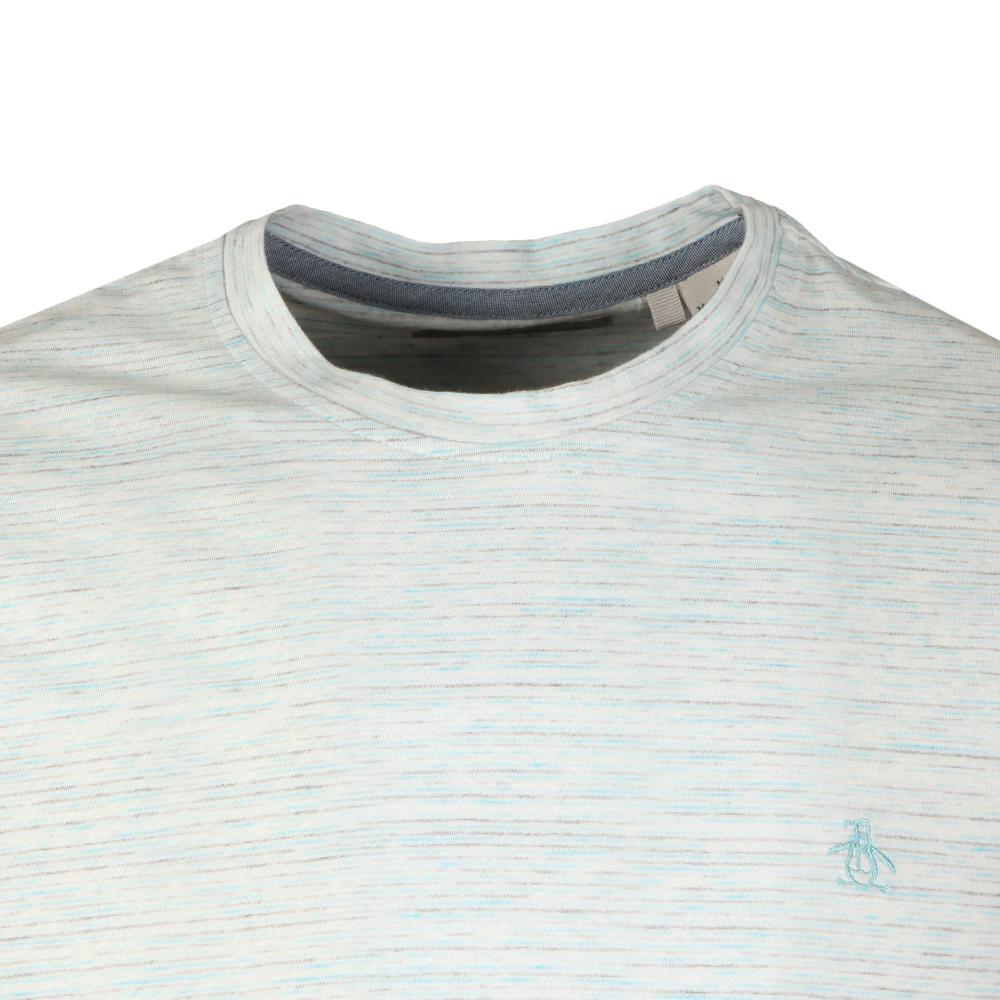 S/S Space Dye Stripe Tee main image