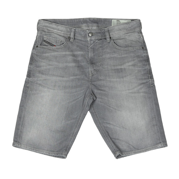 Diesel Mens Grey Thoshort Denim Short main image