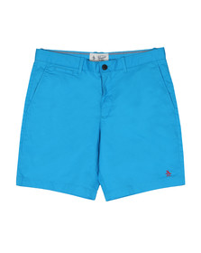Original Penguin Mens Blue P55 Stretch Short