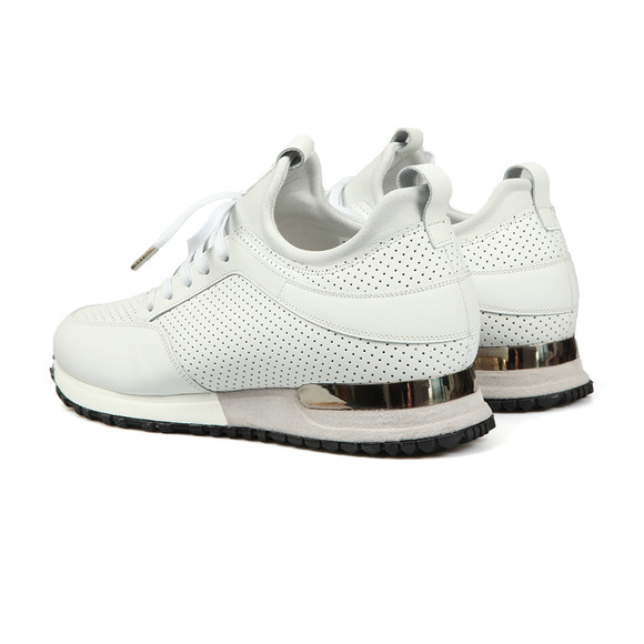 Mallet Mens White Archway 1.0 Trainer main image