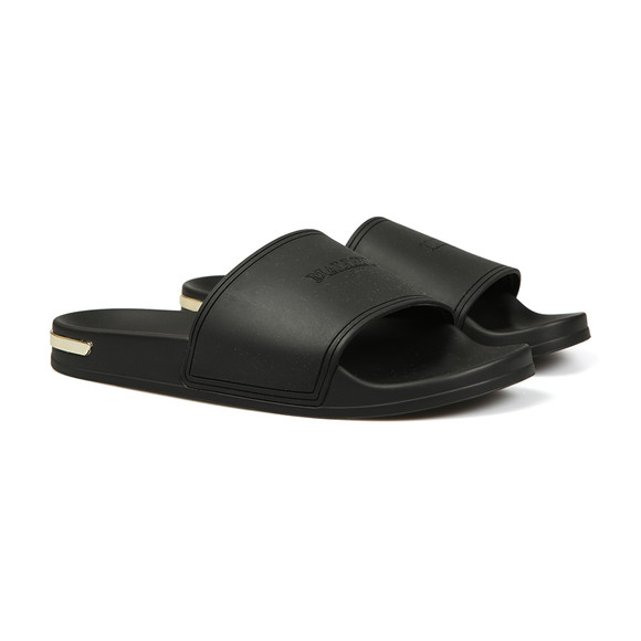 Mallet. Mens Black Slides main image